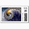 fractal postage