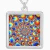 fractal necklace