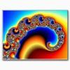 fractal zazzle_postcard